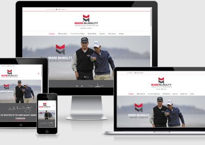 Mark McNulty Junior Golf Foundation Website