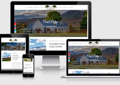 Oak Ridge Guest House Website